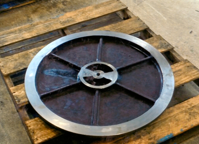 Slurry pump wear plate